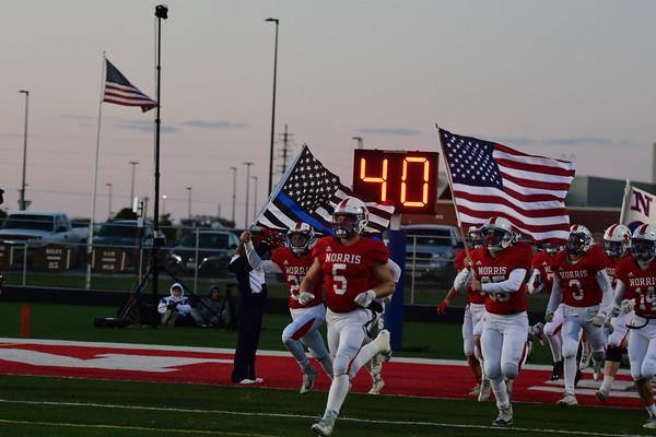 Varsity Football vs Omaha Gross
