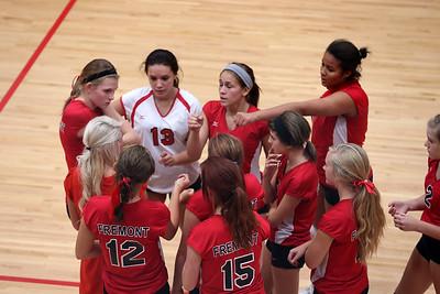 Girls Freshman Volleyball - 9/30/2014 Grant