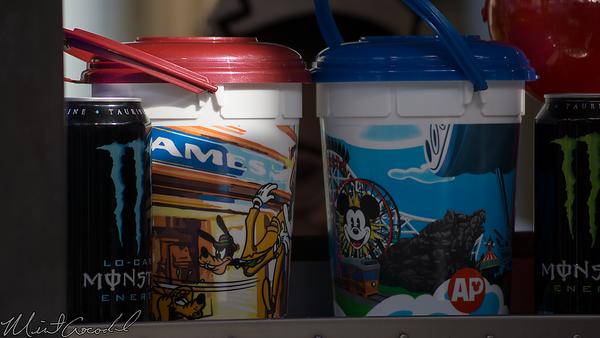 Disneyland Resort, Disney California Adventure, Popcorn, Bucket