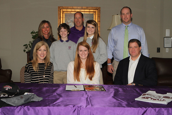 Taylor Sullins College Signing 2013