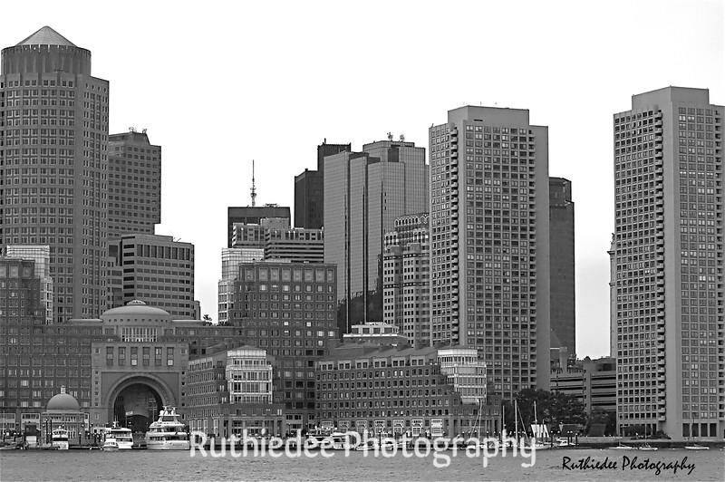 Boston Harbor...