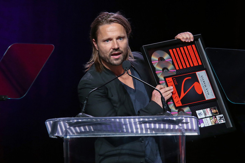 . Max Martin receives an award on stage during the 30th Annual ASCAP Pop Music Awards at Loews Hollywood Hotel on April 17, 2013 in Hollywood, California.  (Photo by Paul A. Hebert/Getty Images)