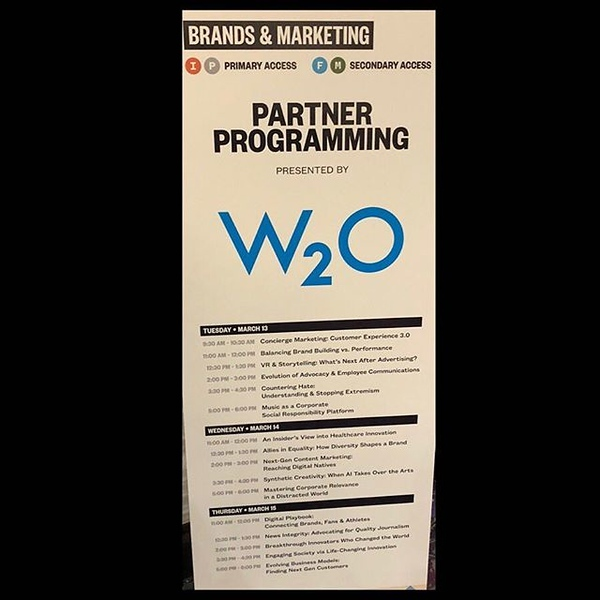 Ready for a great day (actually a great 3 days) of programming with our partners at @w2ogroup today. If you're still at #SXSW please join @dynamic_signal at 2 pm today in Fairmont Ballroom C as we talk about the evolution of advocacy and employee communic
