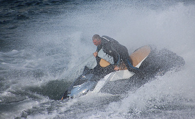 Ross Eddington - Jules Verne on a Jet Ski