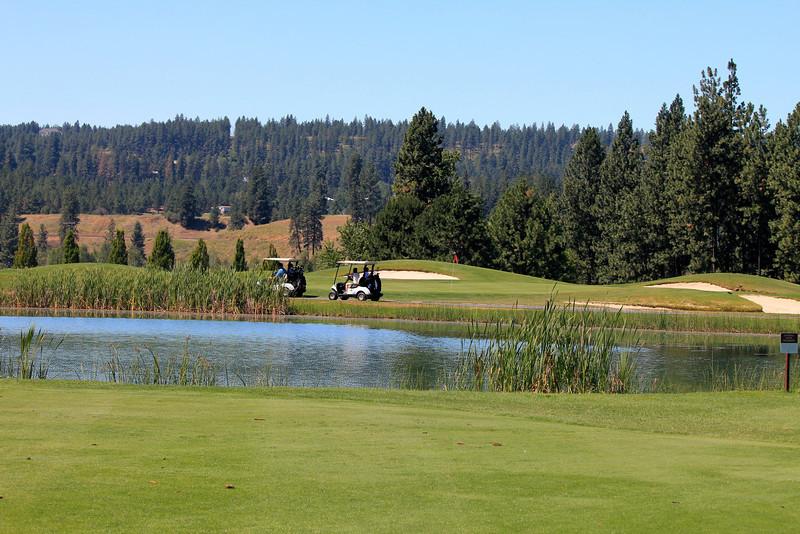 #7 Green, The Creek at Qualchan GC,  Spokane, Wa