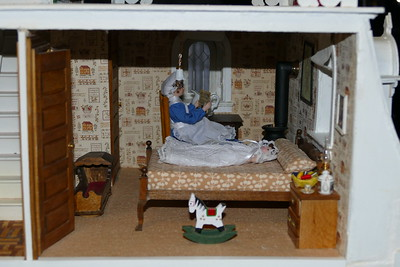 Completed Beacon Hill Dollhouse 3-23-2021