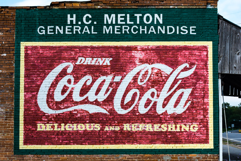 GA, Allentown - Coca-Cola Wall Sign 03