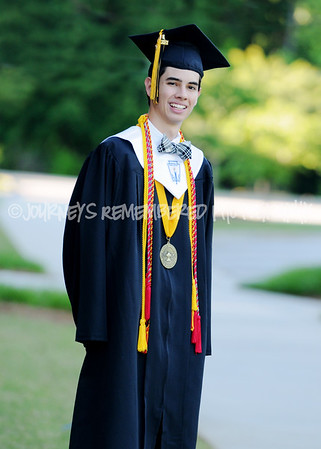 Jack- Cap and Gown