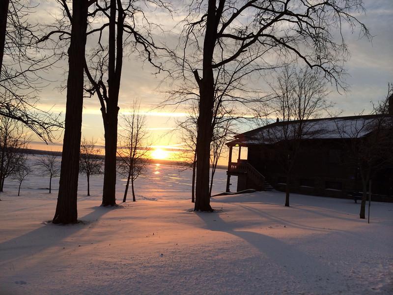 Sunrise Cayuga Lake State Park