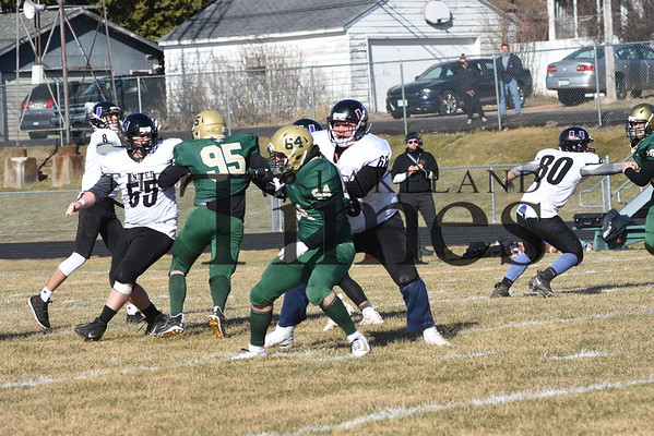 Chequamegon/Mercer Football vs. GBNL April 1, 2021