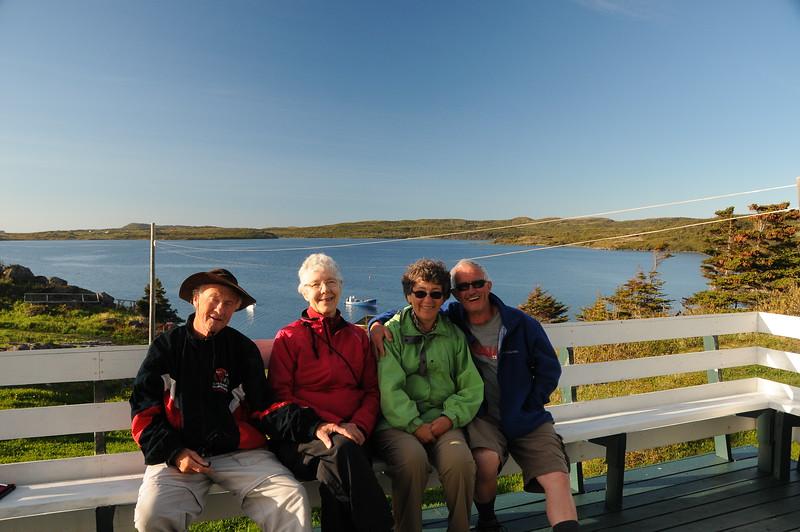 Myself and Sharon, Donna and Keith