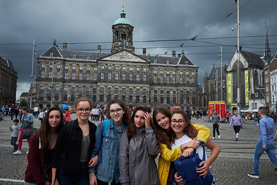 Octavia and Best Friends visit Amsterdam, July 2017.
