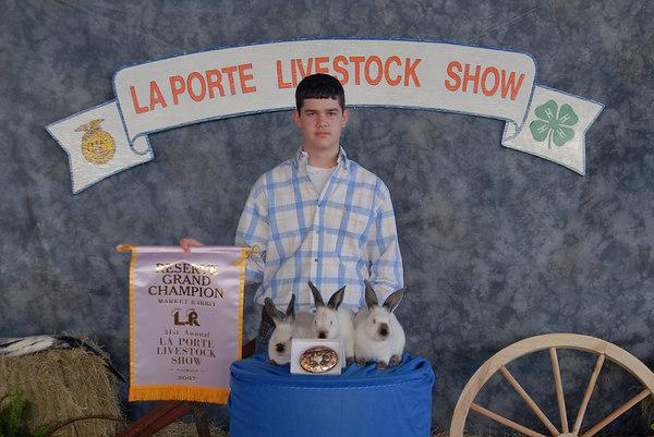 2007 La Porte Livestock Show and Rodeo Assoc Award shots (3-27-07)