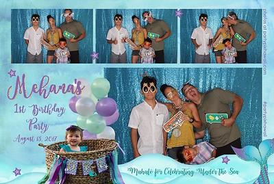 Mehana's 1st Birthday (LED Open Air Photo Booth)