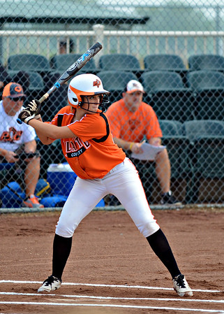2014 Platte County Varsity Softball Invitational vs Cameron