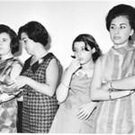 Lurdes Ramos, Lurdes Pereira, Anita Pereira e Justina Ferraz