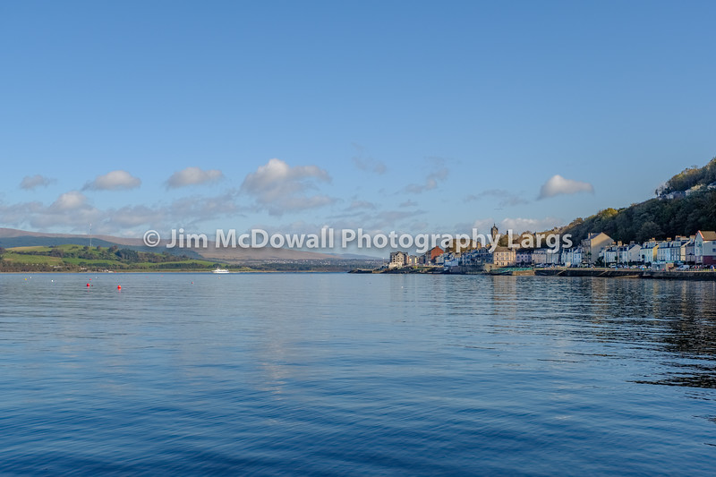 Gourock from Ashton Road on a Bright Octobers day
