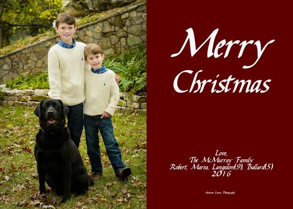 McMurray Christmas Card