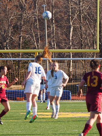 Girls JV Soccer - 4/1/14