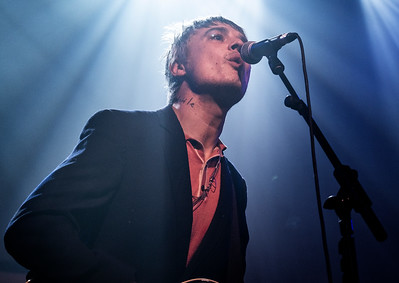 Peter Doherty at Hanger 34, Liverpool