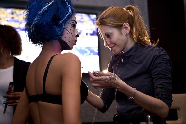 Fashion Show | Pop Art Makeup