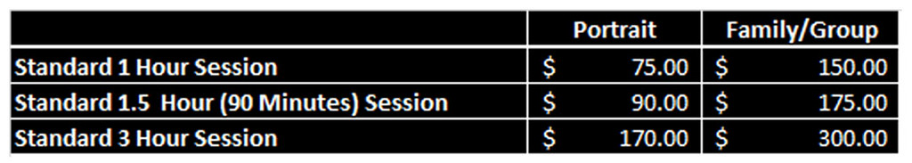 Session Prices_2015