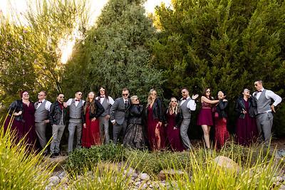Michaela and Chris Wedding Bridal Party