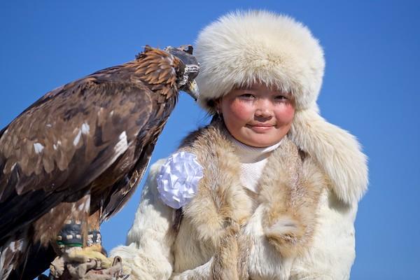 Altai Kazakh Eagle Festival 2017
