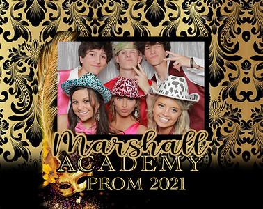 Marshall Academy prom 2021