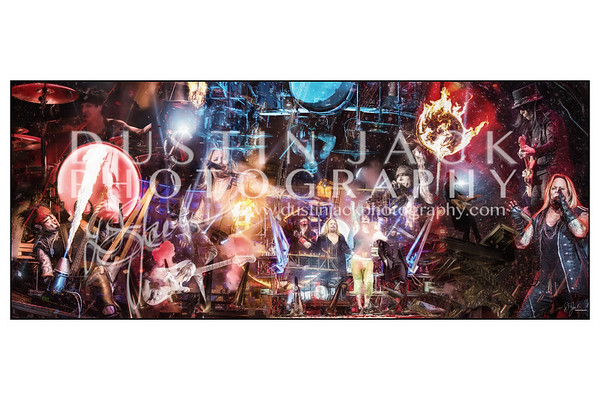 Motley Crue The Final Show Poster Print