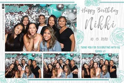 Nikki's 40th Surprise Birthday (Mini LED Photo Booth)