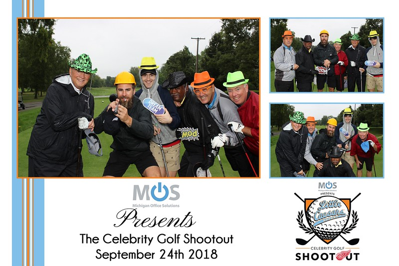 Celebrity Golf Shootout 2018  Presented by M.O.S.