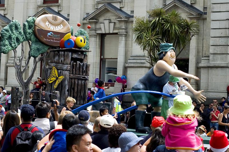 Wallace of Footrot Flats Santa Parade Auckland New Zealand - 27 Nov 2005
