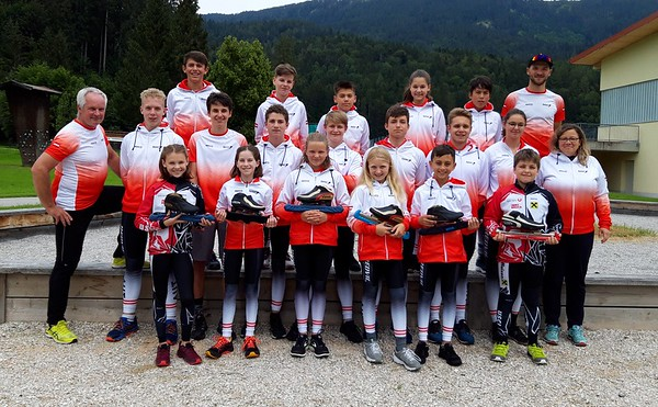 Kaderlehrgang Eisschnelllauf-Jugendnationalteam