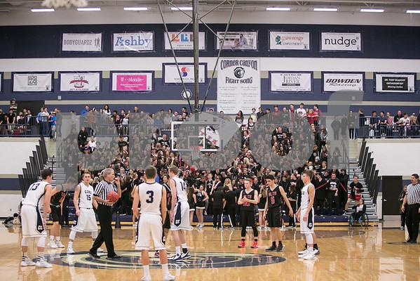 Alta vs Corner Canyon Boys Varsity Basketball