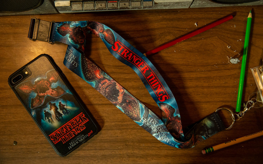 Universal Studios Singapore Halloween Horror Nights 8 Merchandise / Strange Things Exclusive Lanyard
