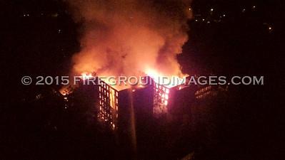 Drone Footage of Bristol Babcock Factory Fire (Waterbury, CT) 8/13/15