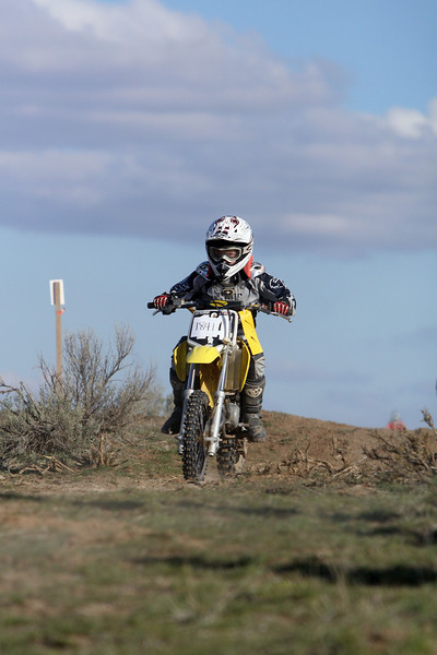 2009 Desert 100 Kids Race #2- Yellow Bikes