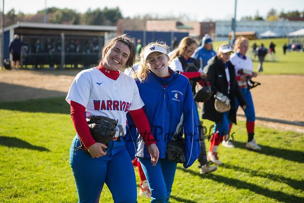 2021-4-26 WHS Girls Softball vs Dover