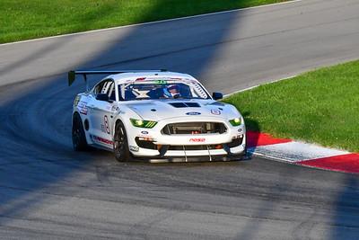 2020 MVPTT Sept Mid Ohio White Mustang GT4 8