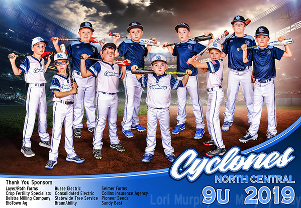 North Central Cyclones Travel Baseball Teams