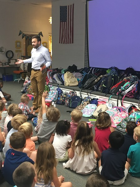 Blessing of the Backpacks 2018