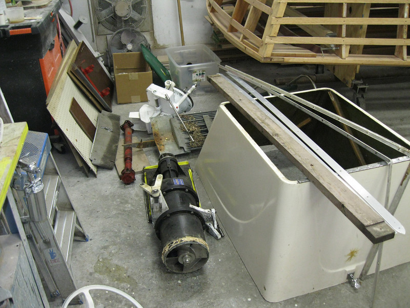 Jet pump removed.