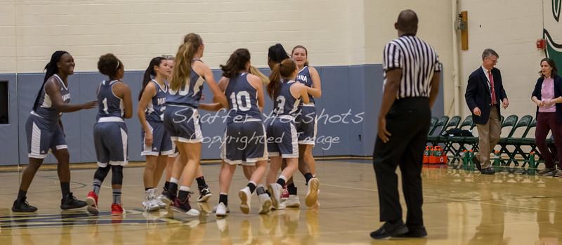 Madeira Varsity Basketball vs. Maret and Potomac School