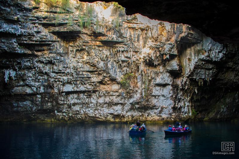 Melissani Cave Lake