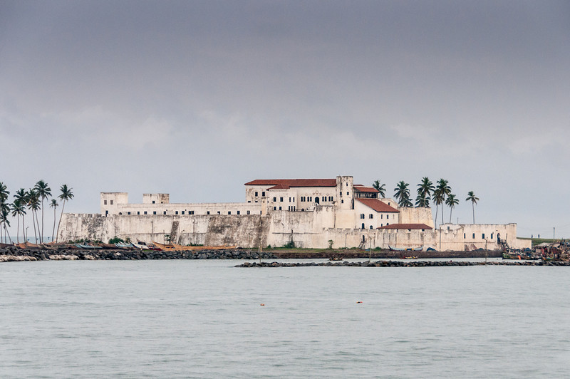 Cape Coast Castle in Takoradi, Ghana