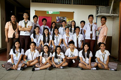 Student Council Group Shots SY 2014-2015