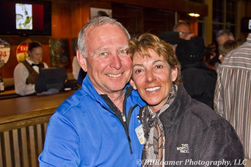 Joe Decker with Teri Golden