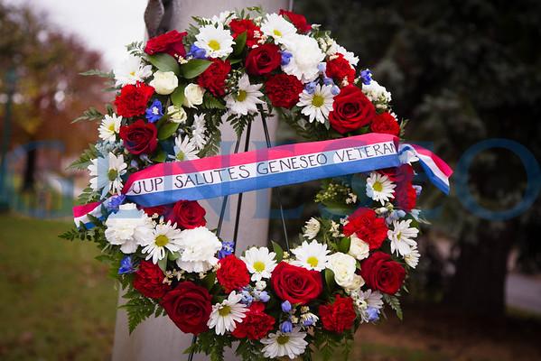 UUP Veteran's Day Wreath Ceremony