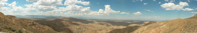 McCullough Peaks - Scenery & Wild Horses